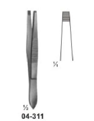 04-311 Splinter and Cilia Forceps