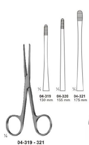 04-319-321 Sponge and Dressing Forcep