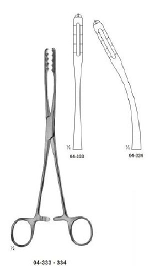 04-333-334 Sponge and Dressing Forcep
