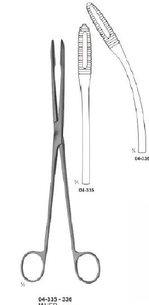 04-335-336 Sponge and Dressing Forcep