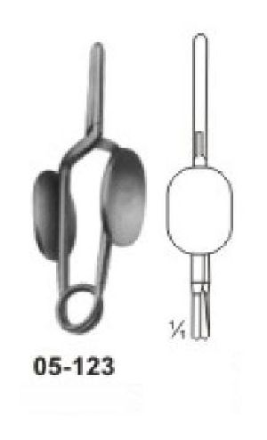 05-123 Muller Vessel Clips and Bulldog Clamp