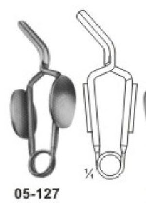 05-127 Muller Vessel Clips and Bulldog Clamp