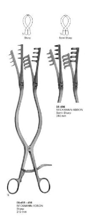 08-455-456 Self-Retaining Laminectomy Retractor