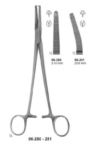 Hysterectomy Forceps