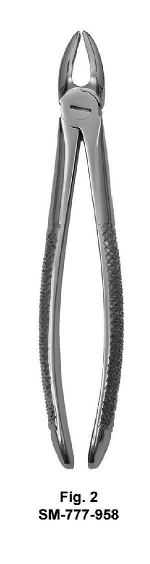 SM-777-958 UK Pattern Tooth Extraction Forceps