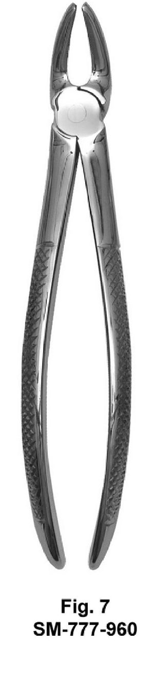 SM-777-960 UK Pattern Tooth Extraction Forceps