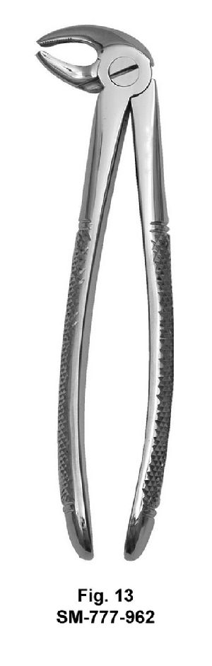 SM-777-962 UK Pattern Tooth Extraction Forceps