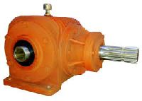 Rotavator gear box
