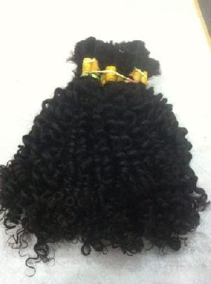 Steamed Curly Bulk Hair