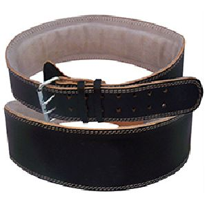 WB-404 Plain Leather Weight Lifting Belt