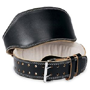 WB-405 Plain Leather Weight Lifting Belt