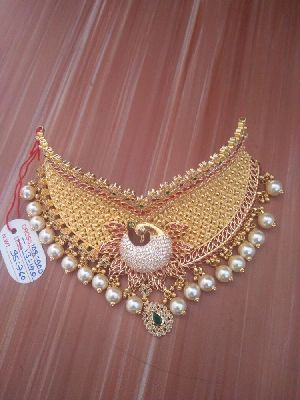 Gold Necklace 07