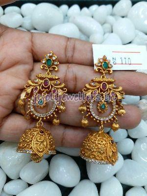 Gold Jhumka 02
