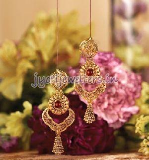 Gold Jhumka 03