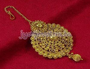 Gold Maang Tikka 01