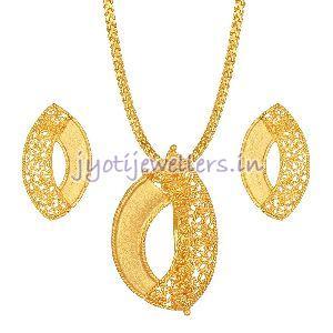 Gold Pendant Set 02