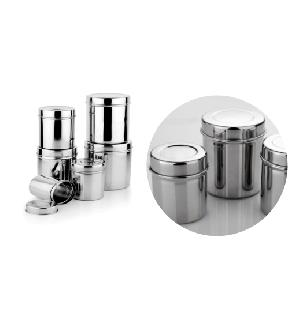 Stainless Steel Jar Set