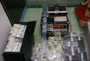 Black Money Cleaning Machine