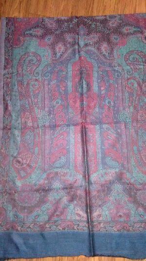 Fine Wool Jamawar Pala Stoles