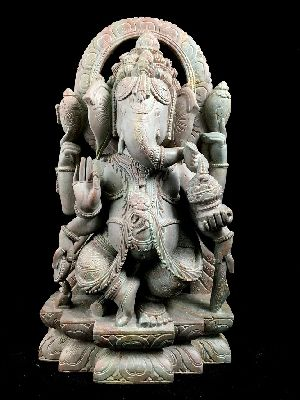 Blessing Ganesh in Dancing Pose
