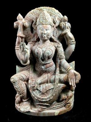 Lakshmi Stone Statue