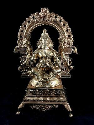 Sitting Ganesha Bronze Statue
