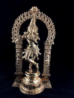 Krishna Playing Flute Statue