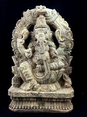 Lalita Asana Ganesha Statue