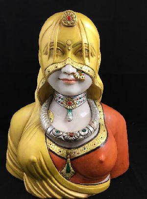 Rajastani Lady Wearing Ghunghat 02