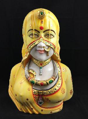 Rajastani Lady Wearing Ghunghat 03