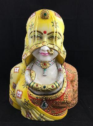 Rajastani Lady Wearing Ghunghat 04