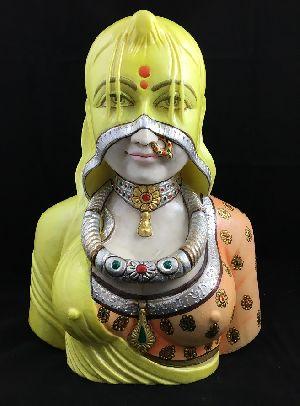 Rajastani Lady Wearing Ghunghat 01