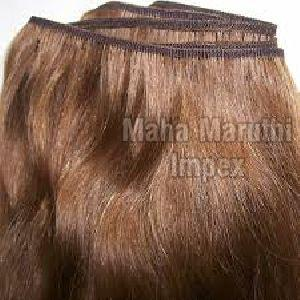 Double Fold Machine Weft Hair