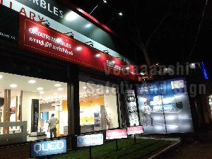 Acrylic LED Advertising Boards