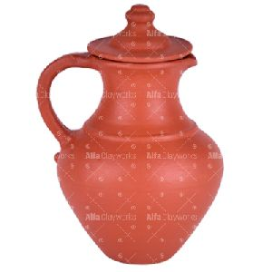 Terracotta Clay water jug