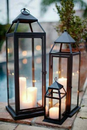 Tabletop Lantern 12