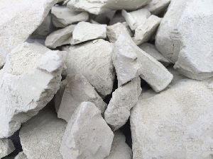 White Bentonite Lumps