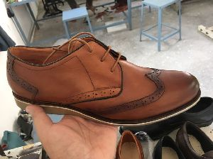 Mens Belted Leather Shoes