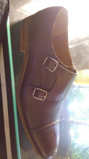Mens Pure Leather Sole Shoes