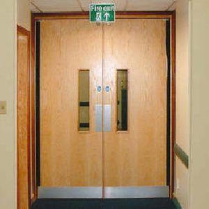 Wooden Fire Door 01