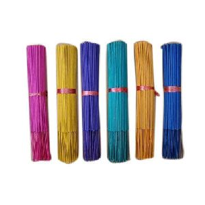 Colored Aromatic Raw Incense Sticks