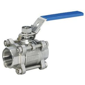 Three Piece Stainless Steel Ball Valve