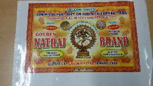 Natraj Brand Yellow Touch Zari Thread