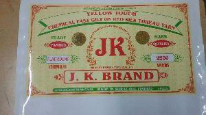 JK Brand Yellow Touch Zari Thread
