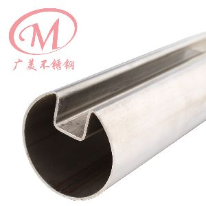 Stainless Steel Fluted Round Tubes