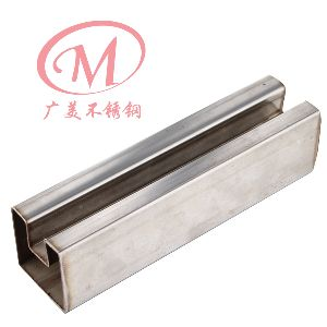 Stainless Steel Fluted Square Tube 01