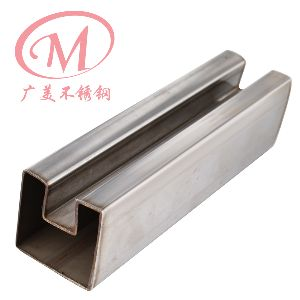Stainless Steel Fluted Square Tube 02