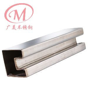 Stainless Steel Fluted Square Tube 03