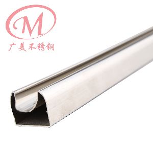 Stainless Steel Fluted Square Tube 08