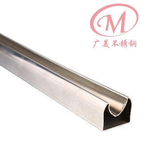 Stainless Steel Fluted Square Tube 09